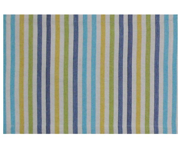 Capri 100% Cotton 18 Placemat (Set of 6) by Traders and Company